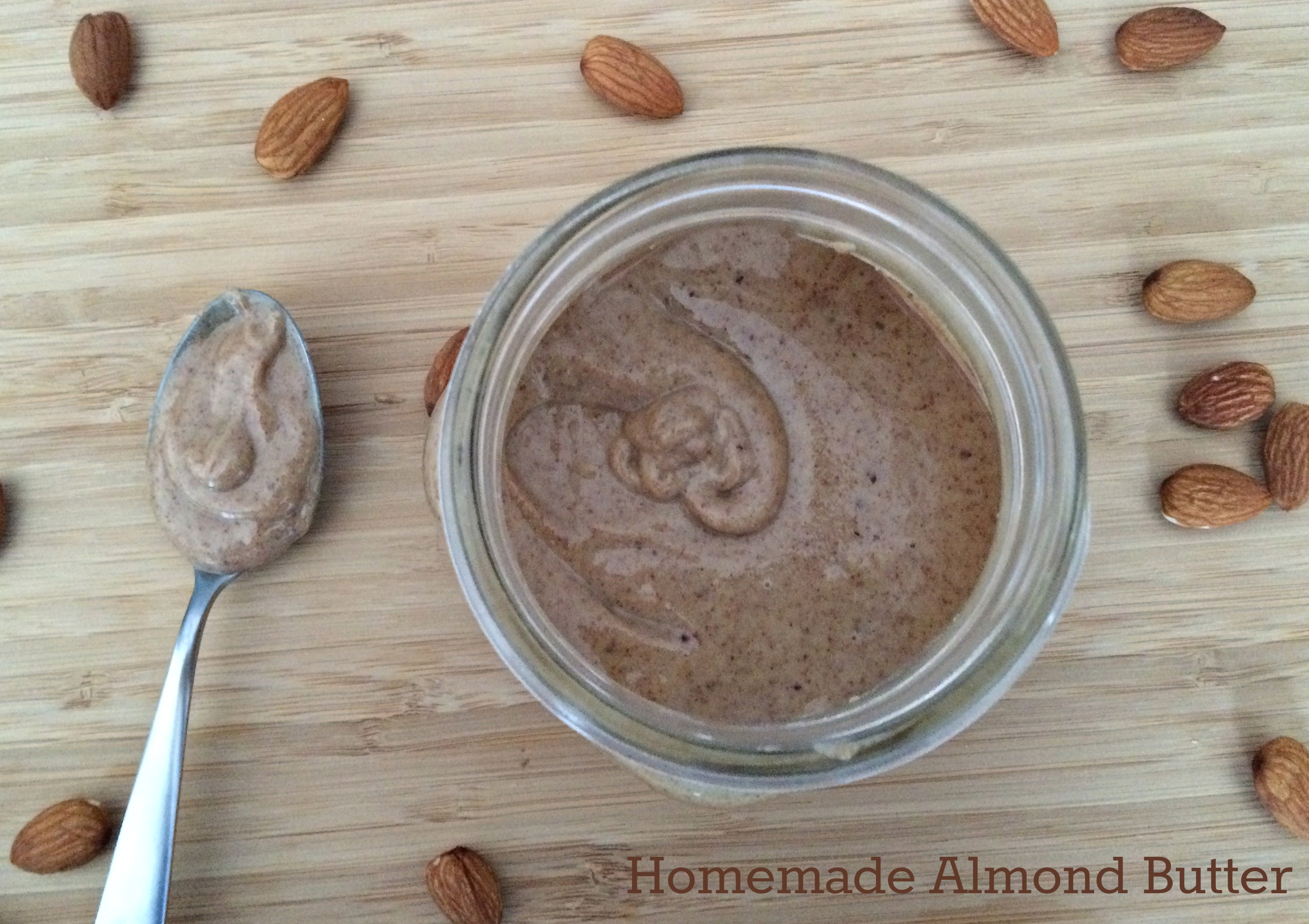 Homemade Almond Butter | RD in the Midwest