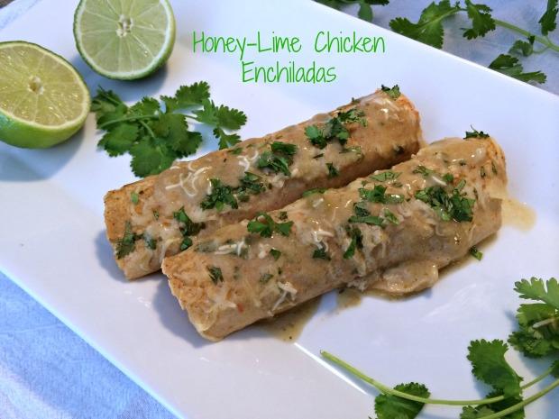 Honey-Lime Chicken Enchiladas