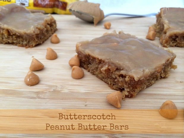 Butterscotch Peanut Butter Bars