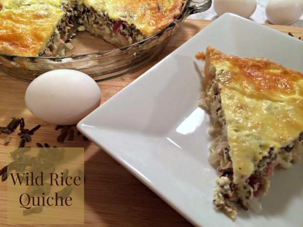 Wild Rice Quiche