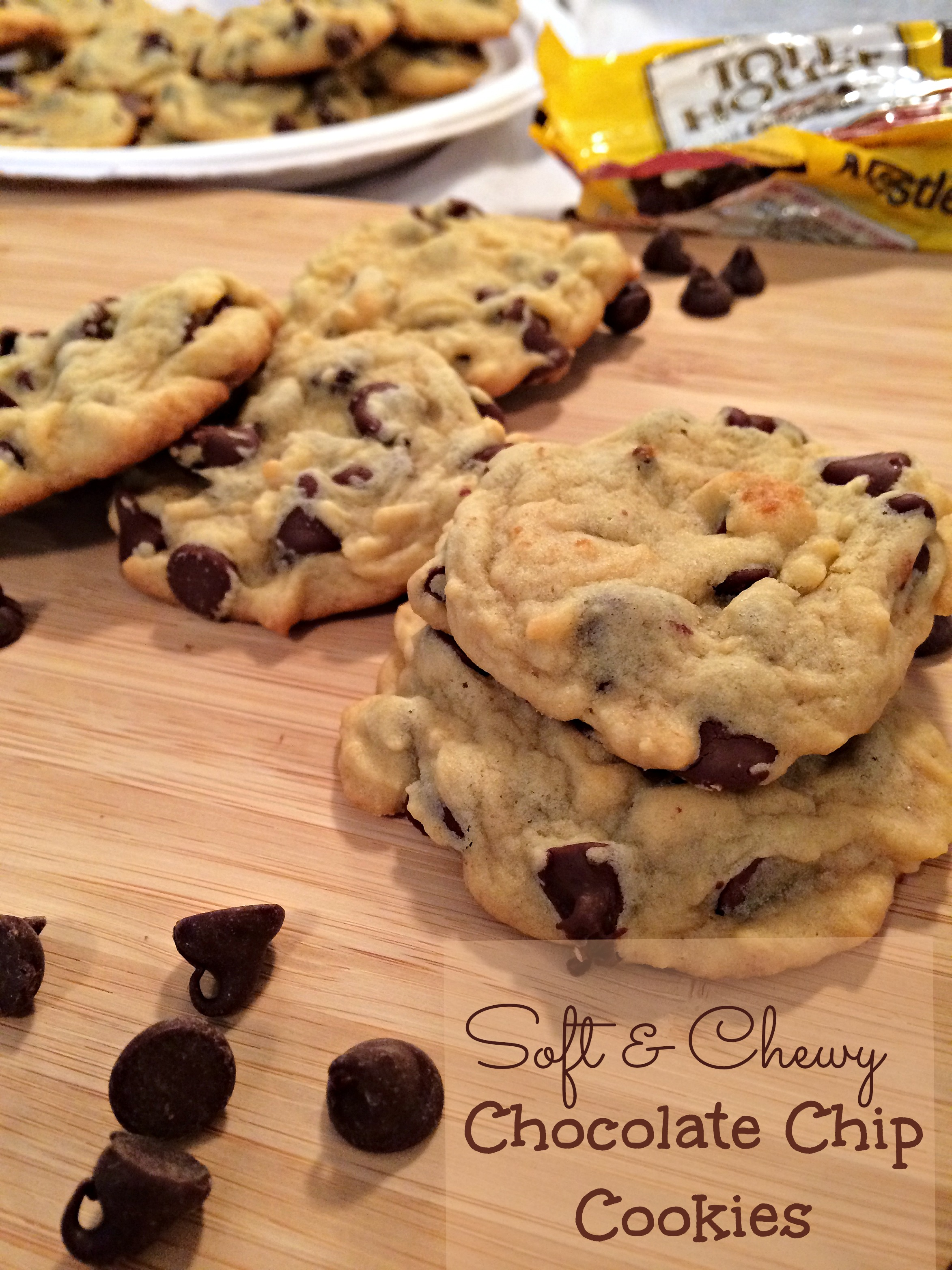 Soft And Chewy Chocolate Chip Cookies Recipe — Dishmaps