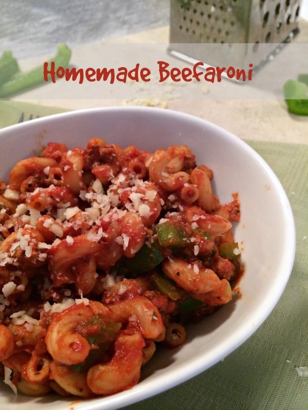 Homemade Beefaroni