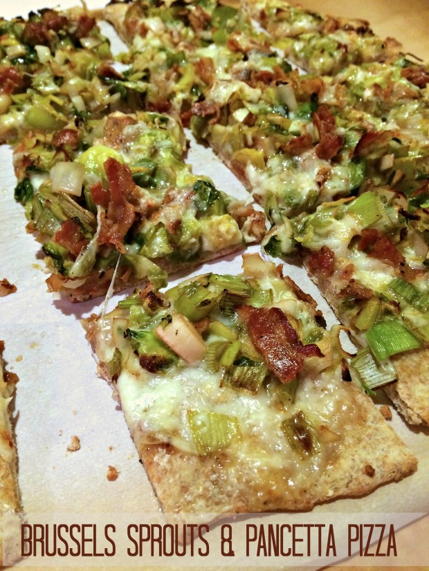 Brussels Sprouts & Pancetta Pizza
