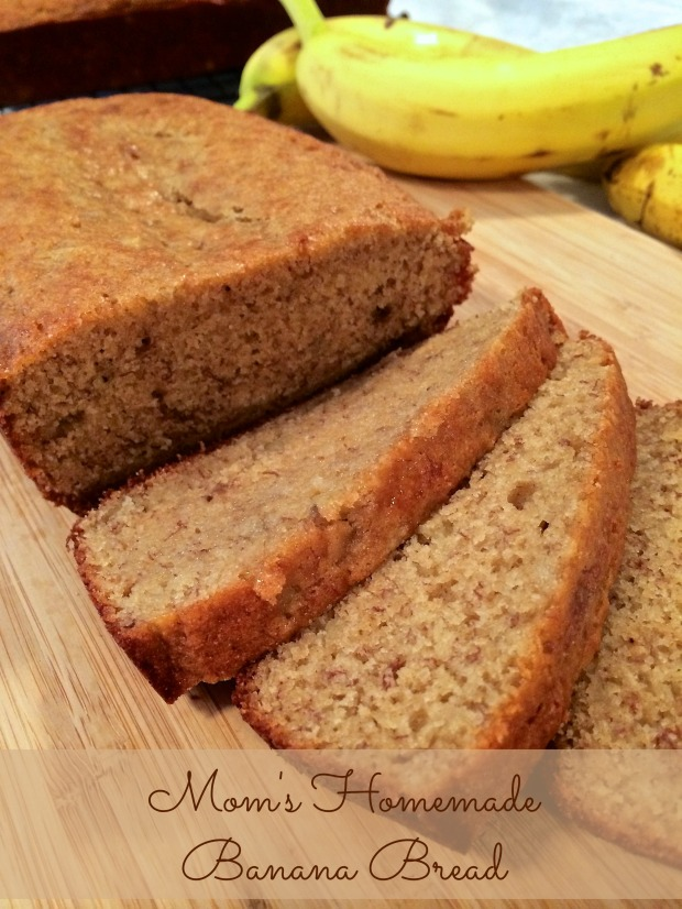 Mom's Homemade Banana Bread