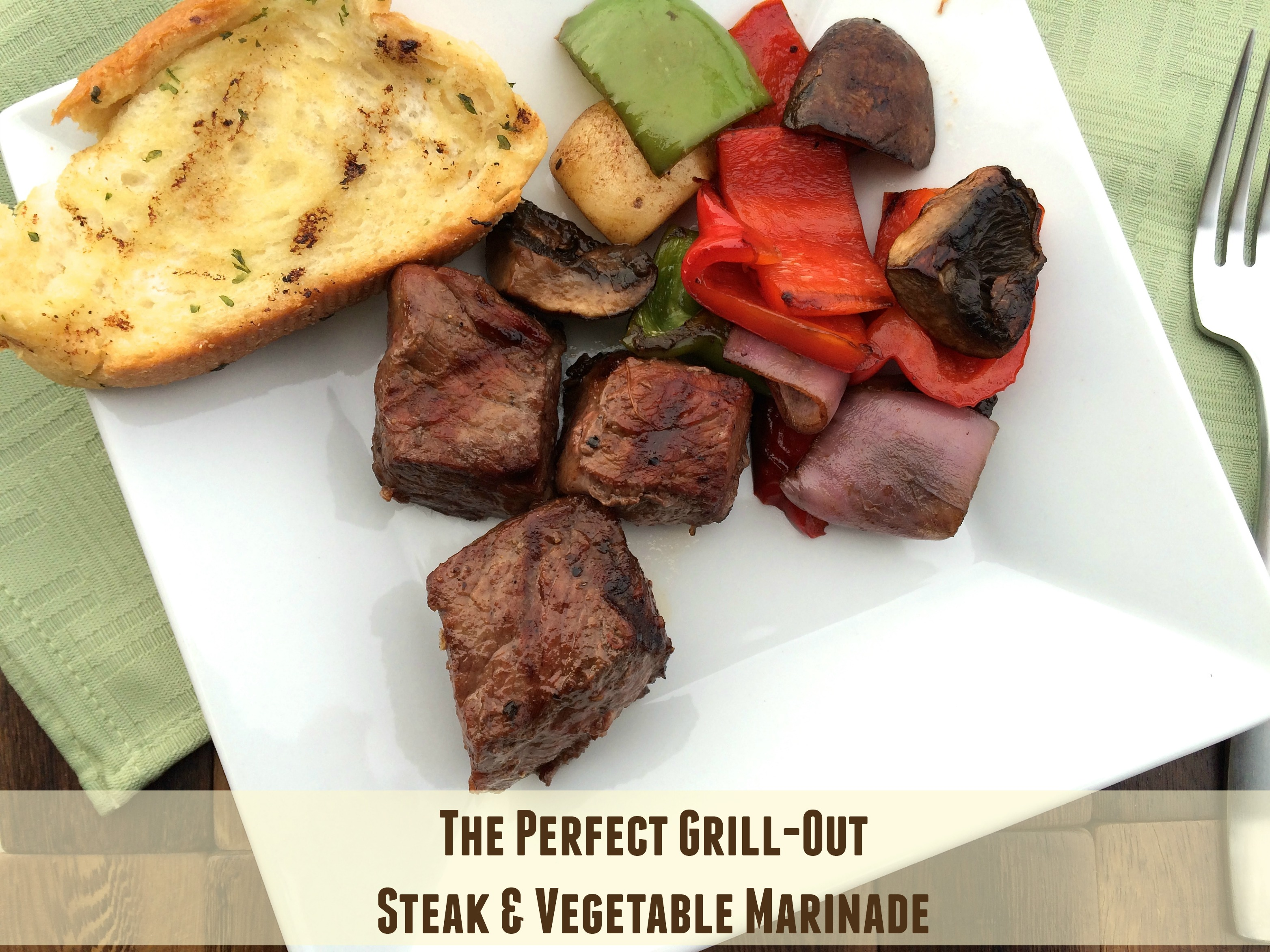 The perfect grill out steak vegetable marinade rd in the midwest - Make perfect grilled vegetables ...