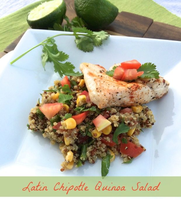 Latin Chipotle Quinoa Salad