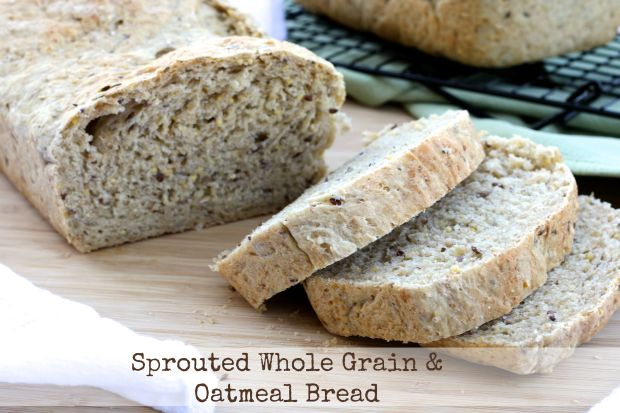 Sprouted Whole Grain & Oatmeal Bread