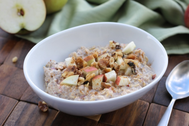 Apple Cinnamon Overniht Oats