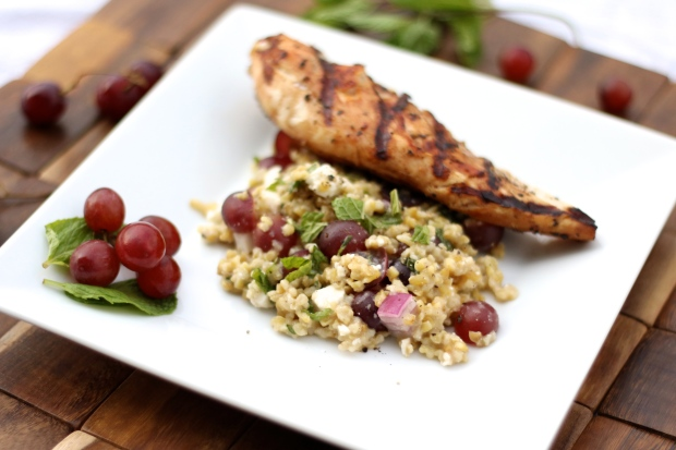 Freekeh and Grape Salad