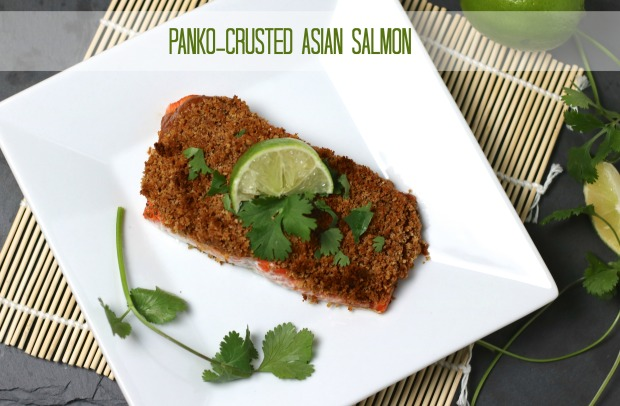 Panko-Crusted Asian Salmon